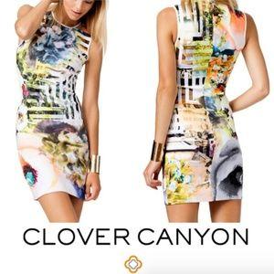 "Clover Canyon Dresses - CLOVER CANYON ""Floral Maze"" Sleeveless Dress"